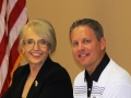 Gov. Jan Brewer and Clint