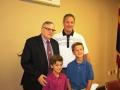 Sheriff Joe Arpaio, Clint Hickman, and Clint's sons