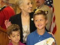Gov. Jan Brewer and Hickman's boys